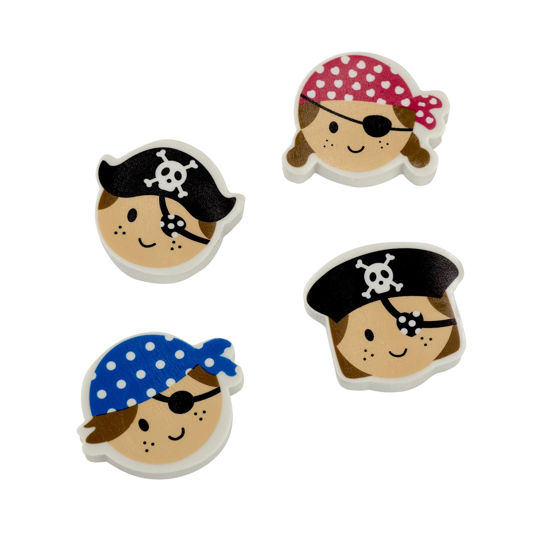 Piraten Bälle aus Schaumstoff Piratenparty Mitgebsel 12 Stück