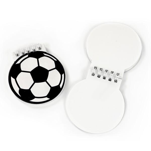 Fussball Notizblöcke 12 Stück Mitgebsel