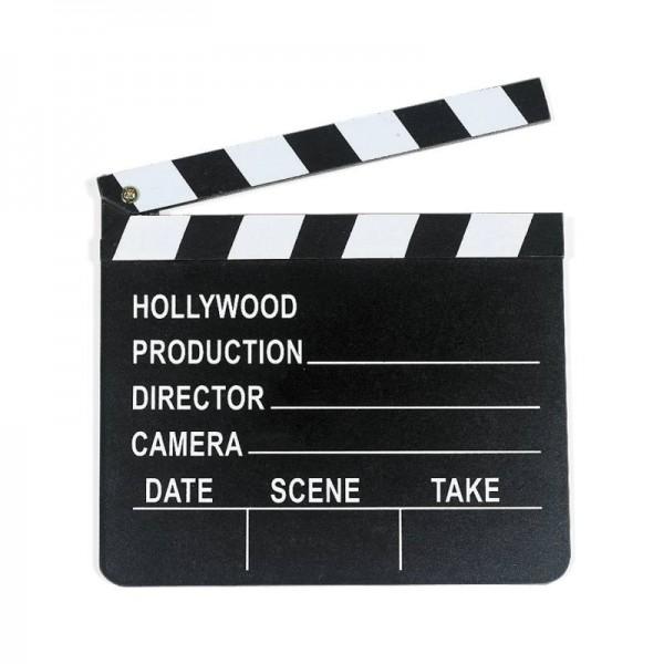 Filmklappe Hollywood Regieklappe 12 Stück