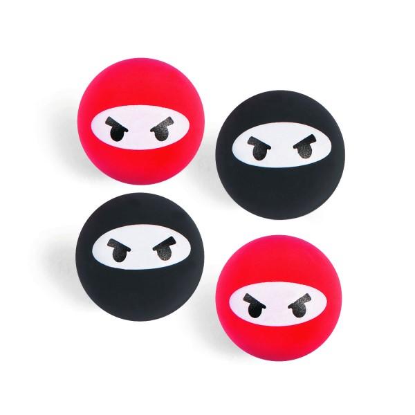 Ninja Samurai Flummis 6 Stück