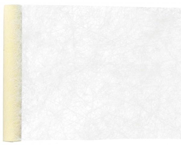 Tischläufer Creme Vlies 25 m Premium Rolle