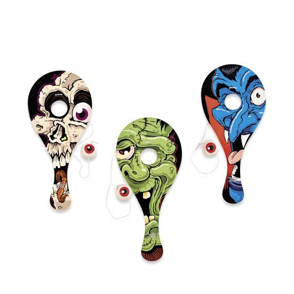 Halloween Ballspiel Geschicklichkeitsspiel 12 Stück Mitgebsel