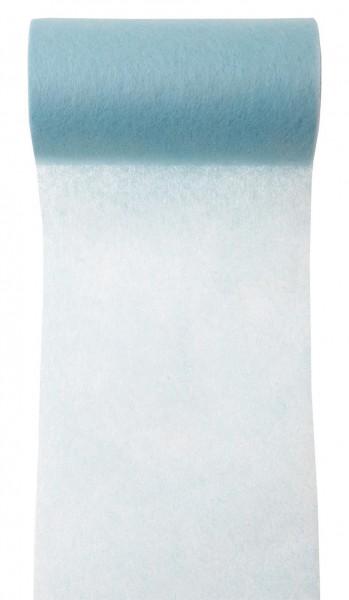Tischband himmelblau Vlies 10cm x 10m