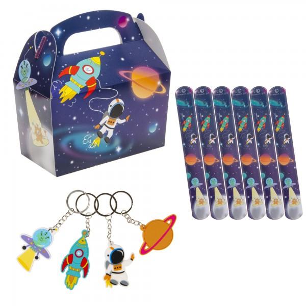 Weltraum Space Mitgebsel Set 36 Teile