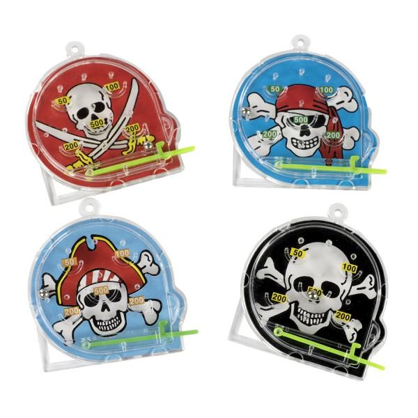 Piraten Flipper Geschicklichkeitsspiel Pinball 12 Stück