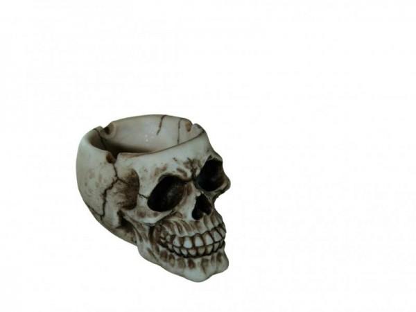 Halloween Totenkopf Totenschädel als Horror Aschenbecher