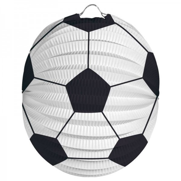 Fußball Laterne Fußballparty Lampion 12 Stück