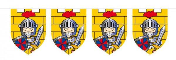 Ritterparty Wimpelkette für kleine Ritter