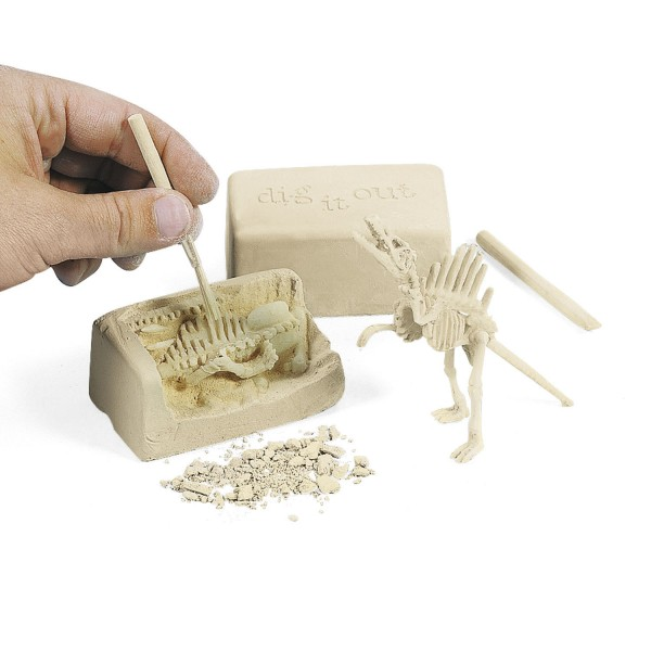 Dino Dinosaurier Entdecker Archäologen Set 12 Stück