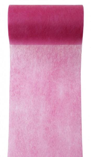 Tischband pink fuchsia Vlies 10cm x 10m