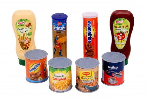 Kaufladen Zubehör Lebensmittel Set 8-teilig
