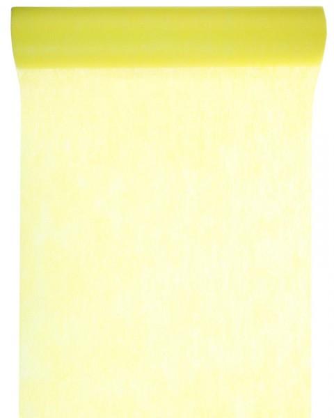 Tischläufer gelb Vlies 10 Meter Rolle