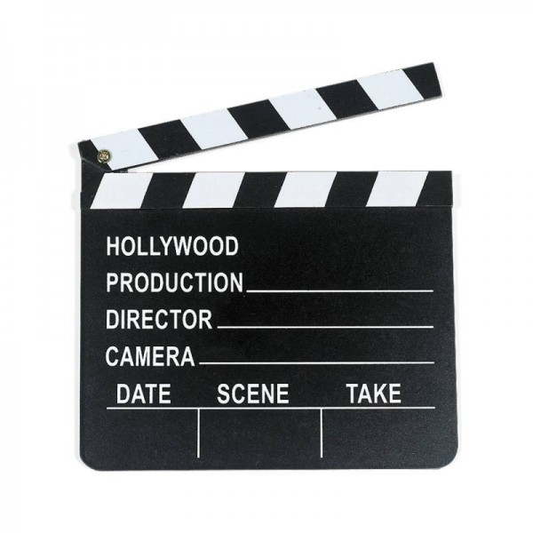 Filmklappe Hollywood Regieklappe 1 Stück