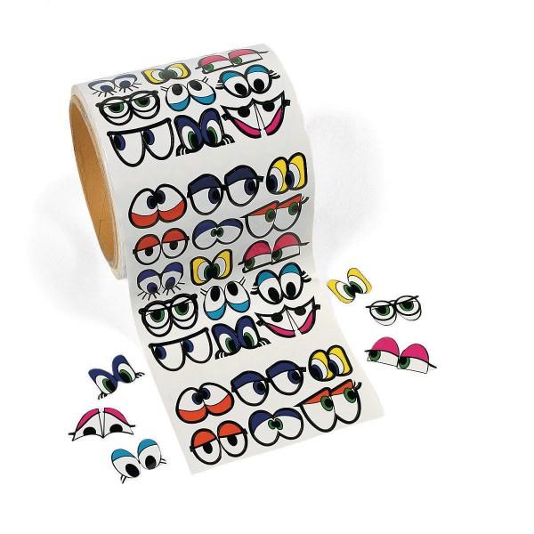 DIY bunte Augen Aufkleber Sticker 1005 Stück