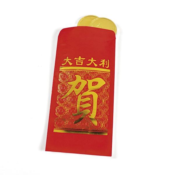 Chinesischer Geldumschlag Glücksumschlag für Geldgeschenke 24 Stück
