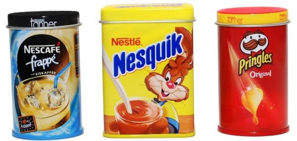 Kaufmannsladen Zubehör Pringles Nesquik Nescafe