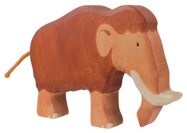 Mammut Dino Holzfigur Holzspielzeug von Holztiger