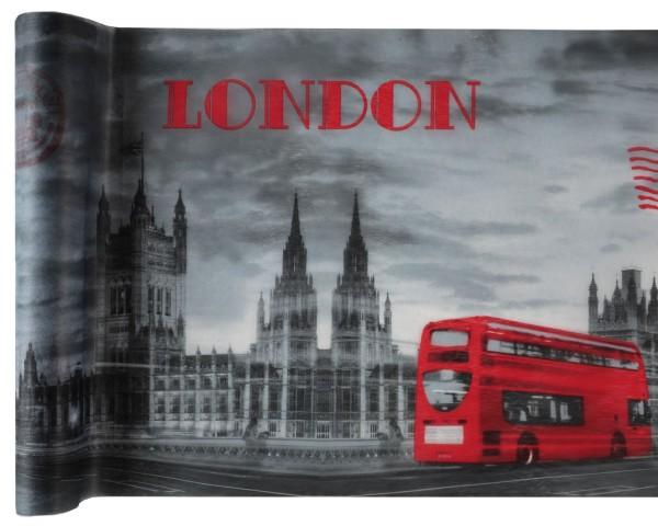 Tischläufer London Vlies 5m Tischband