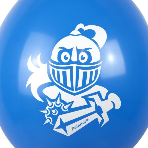 Ritter Luftballons für Ritterparty Palandi® 120 Stück Normaldruck