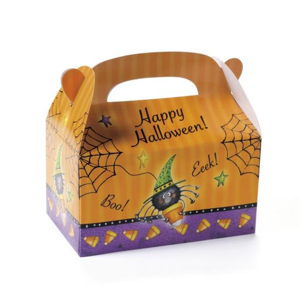 Happy Halloween Faltbox Pappfaltschachteln 8 Stück