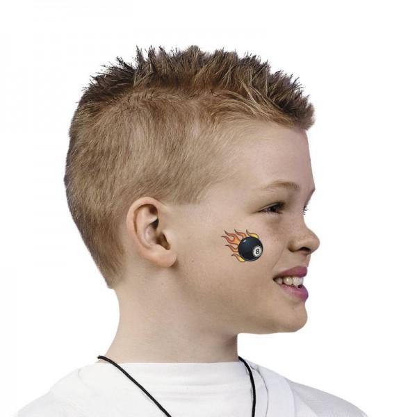 Kinder Tattoo Racing 36 Stück mit 6 Motiven