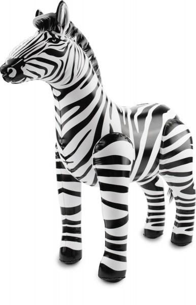 Aufblasbares Zebra