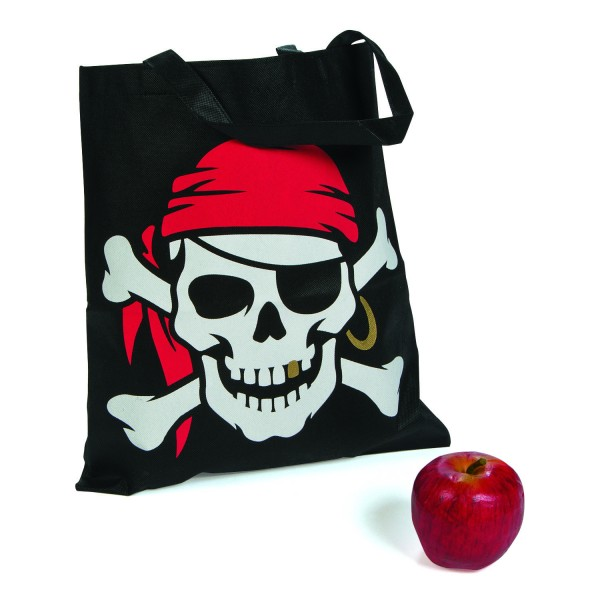 Piraten Party Halloween Sammelbeutel Totenkopf 12 Stück