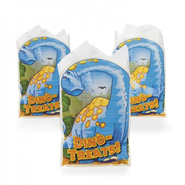 Dino Dinosaurier Partybeutel Partytüte für Mitgebsel 8 Stück