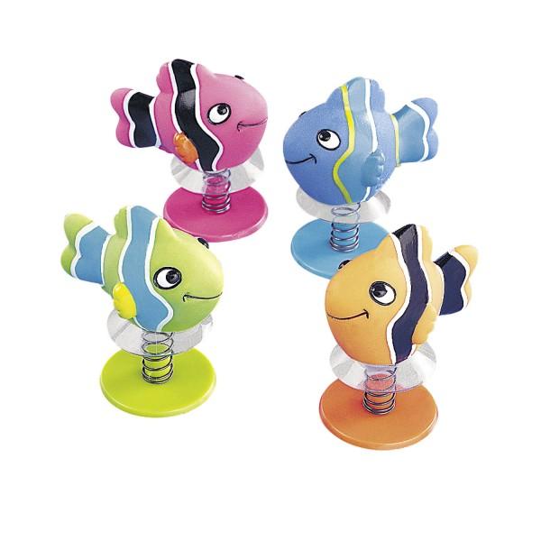 Bunte Pop-Up Fische Mitgebsel 12 Stück
