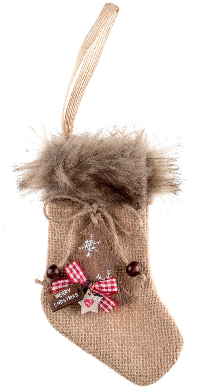 Weihnachten Adventskalender Socke Dekosocke Weihnachtsdeko ...
