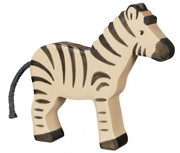 Zebra Safari Holzfigur Holzspielzeug von Holztiger