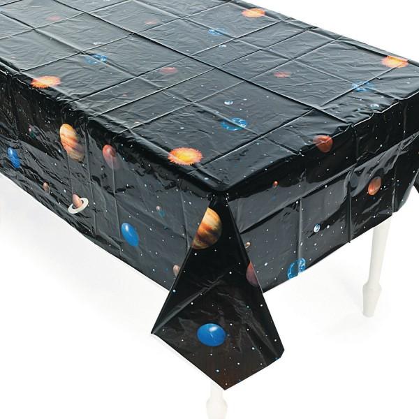Weltraum Planeten Tischdecke aus PVC