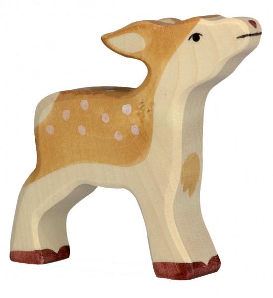 Kitz Waldtier Holzfigur Holzspielzeug von Holztiger