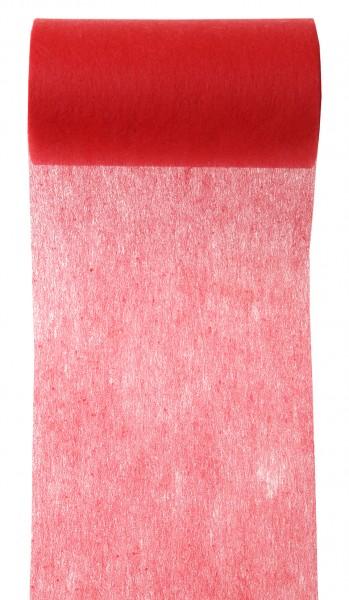 Tischband rot Vlies 10cm x 10m