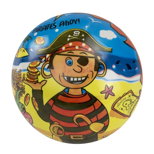 Piraten Strandball Gummiball Piratenparty Wasserball 23cm 100 Stück
