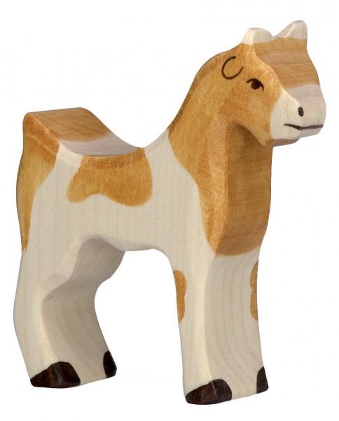 Ziege Holzfigur Holzspielzeug von Holztiger
