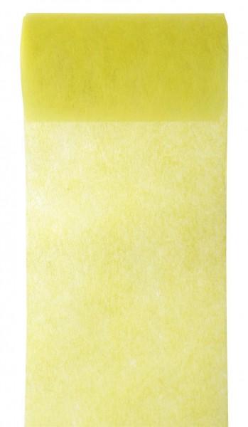 Tischband gelb Vlies 10cm x 10m