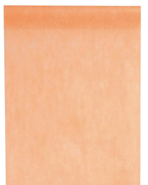 Tischläufer lachsfarben Vlies 10 Meter Rolle