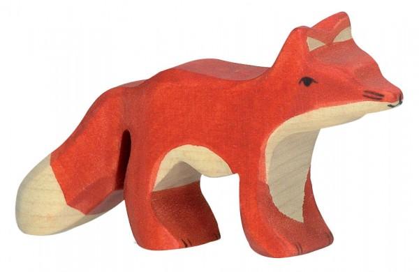 Fuchs klein Holzfigur Holzspielzeug von Holztiger