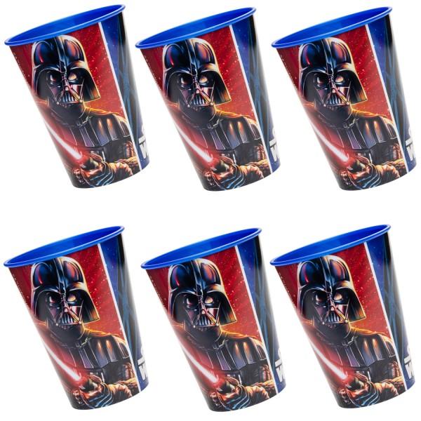 Star Wars Kunststoff Becher 6 Stück
