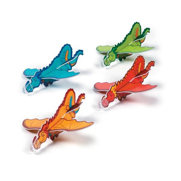 Drachen Styroporflieger Gleitflugzeuge Mitgebsel 6 Stück