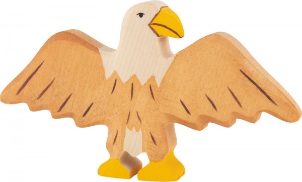 Holztiger Adler Holzfigur