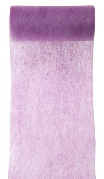 Tischband violett flieder Vlies 10cm x 10m