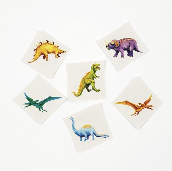Tattoos Dinosaurier in 6 verschiedenen Motiven