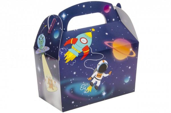 Weltraum Space Geschenkboxen 12 Stück