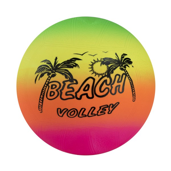 Beachball Strandball Neonfarben Wasserball 15cm 6 Stück