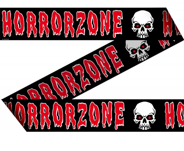Halloween Absperrband Horrorzone Horror