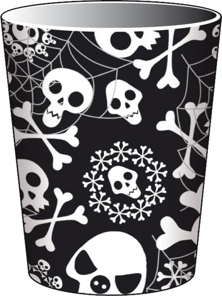 Halloween Piraten-Party Totenkopf Partygeschirr Pappteller Pappbecher Servietten