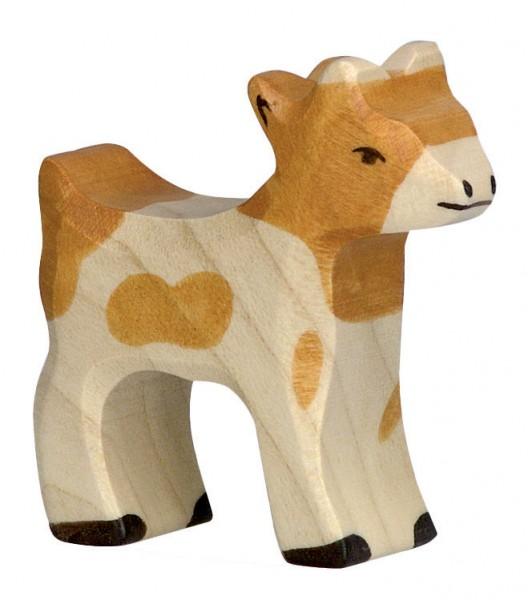 Zicklein Ziege Holzfigur Holzspielzeug von Holztiger