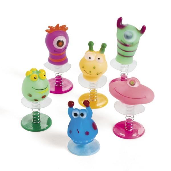 Lustige Monster Pop-Up Figuren Mitgebsel 12 Stück
